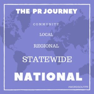 The PR Journey, National PR